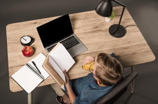 The Height Adjustable Ergonomic Study Desk can turn study time into a fun and bo