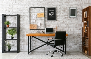 No need to buy a new desk with a GoRiser Standing Desk Converters ML2