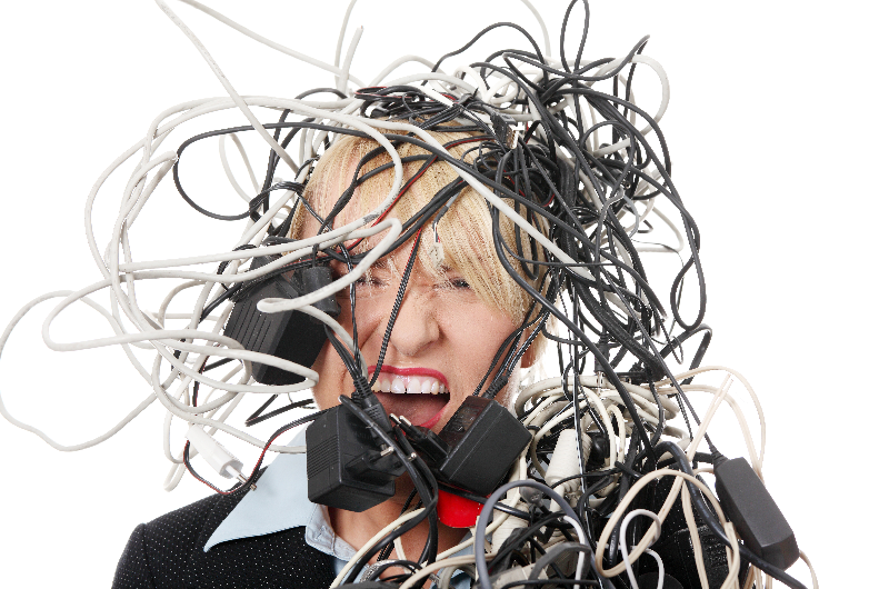 Promote cleanliness and  cable management to  reduce risks in the office with th