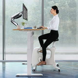 The Under Desk Bike V9U  improves your health and at the same time increase you