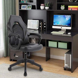 You will definitely be the game winner with the Ergonomic Gaming Chair A39635M
