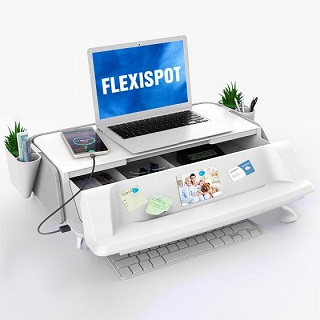 Make your desktop tidy and neat and work stress-free with  MonitorStand Worksta