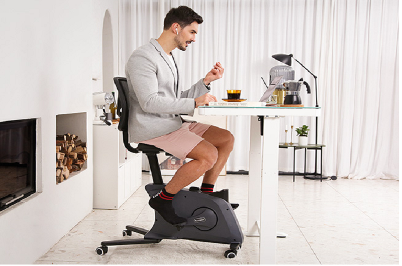 Reduce  body fat  while sitting on  a Sit@Go 2-in-1 Fitness Chair