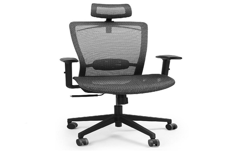 The Ergonomic Office Chair OC3B fits right into your work area.  It supports goo