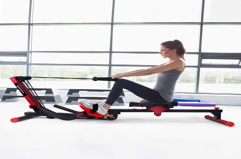 The Foldable Rowing LCL is great to have as a workout body in your home or offic
