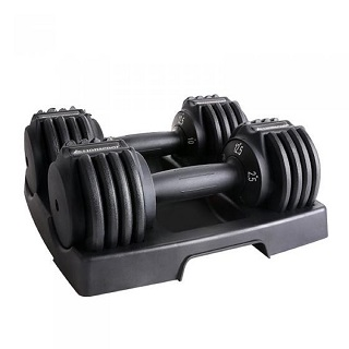 An Adjustable dumbbell that has  extraordinary features to make your physical f