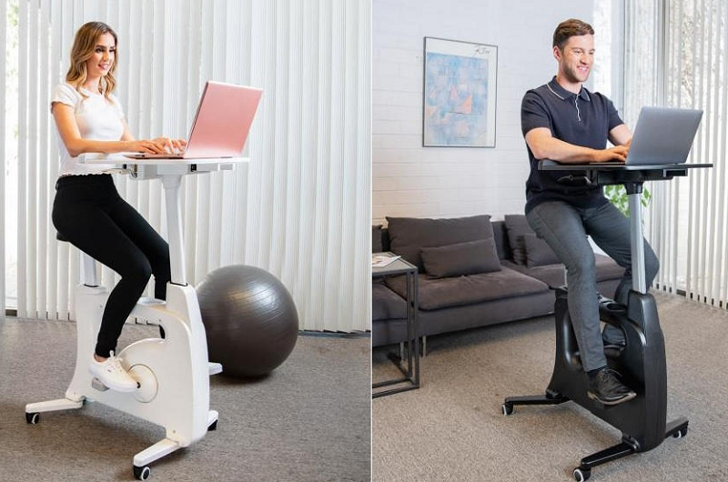 The  Home Office All-in-One Desk Bike/Bike Workstation B9 is a perfect home bud
