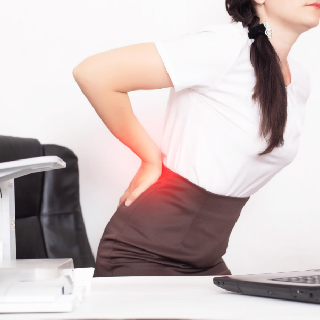 experiencing back pain
