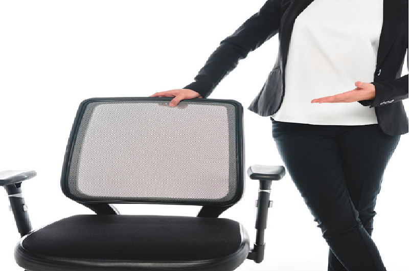 showing an office chair