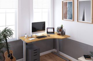 Corner Workstations and The Seiffen L-Shaped Standing Desk