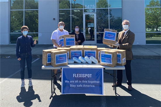 face masks for the city hall of livermore mayor