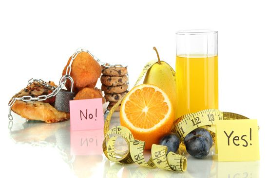 Fasting diet with some junk foods and healthy foods