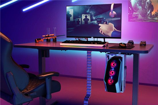 flexispot height adjustable gaming desk standing desk
