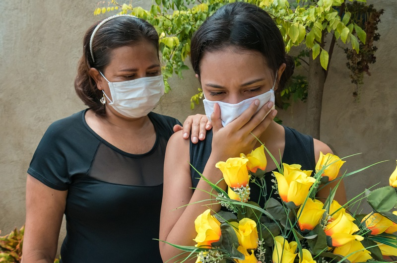 Coping with grief and the loss of a loved one during this pandemic