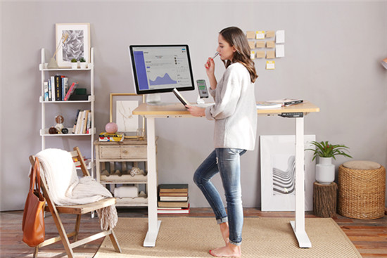home office standing desk for WFH