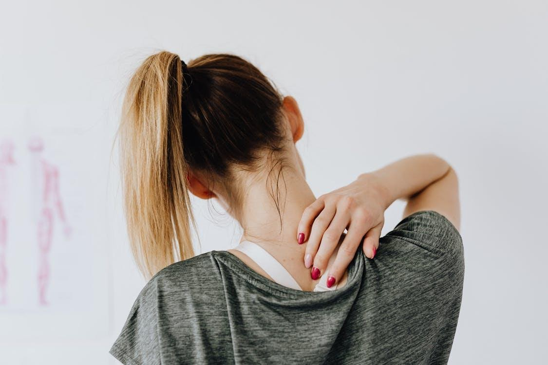 Stretches for back and shoulder pain