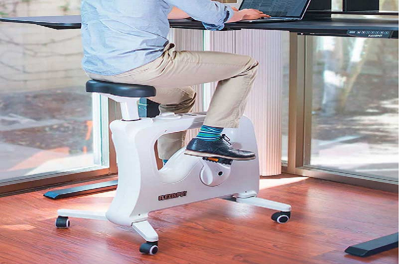 An Ergonomic Desk Bike To Get Rid of the Muffin Top