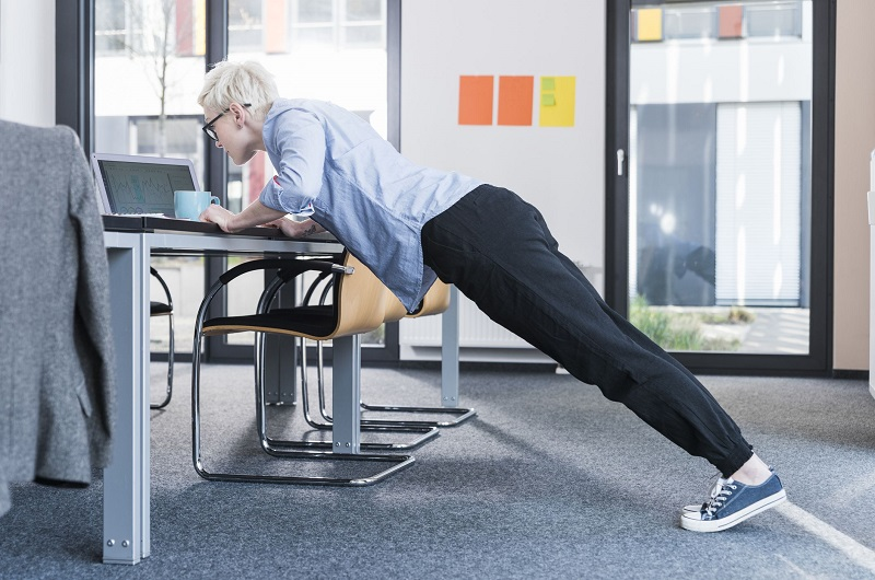 exercise while working