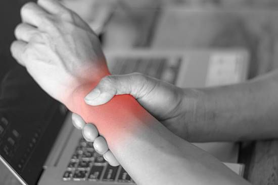Working with wrist pain