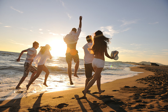 Many young people are enjoying pain free trip