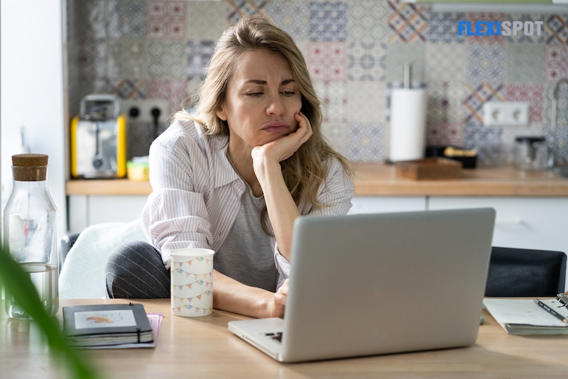 Working from home, regrettably, can result in a more sedentary lifestyle