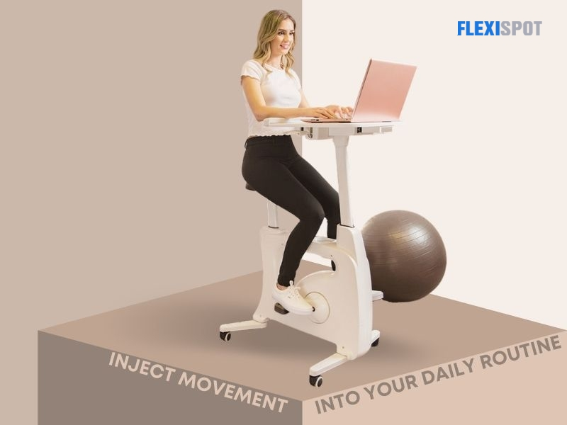 Inject movement into your daily routine