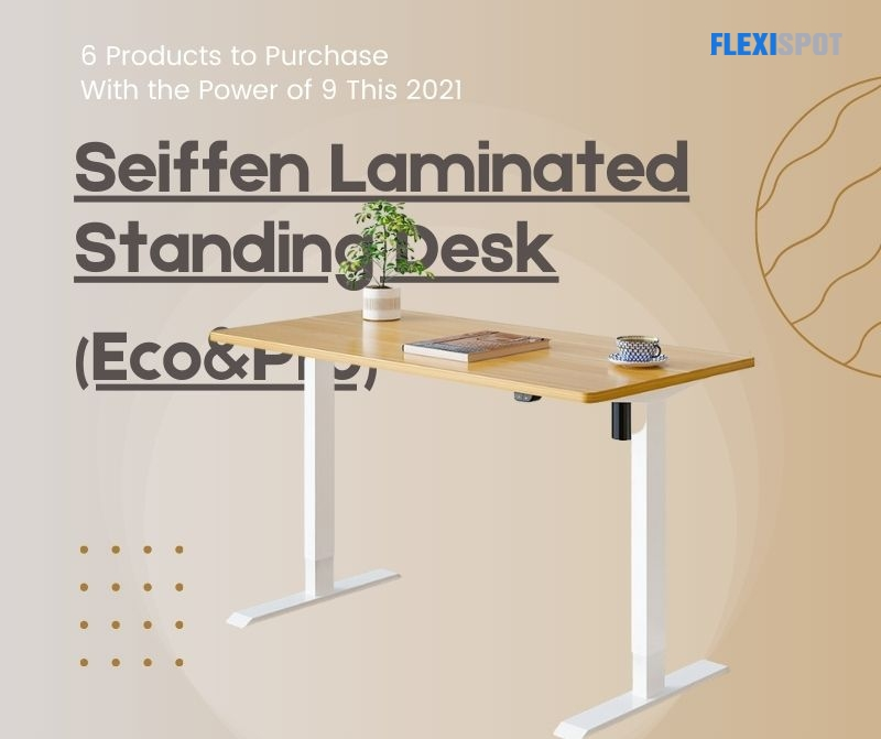 a. Seiffen Laminated Standing Desk (Eco&Pro)
