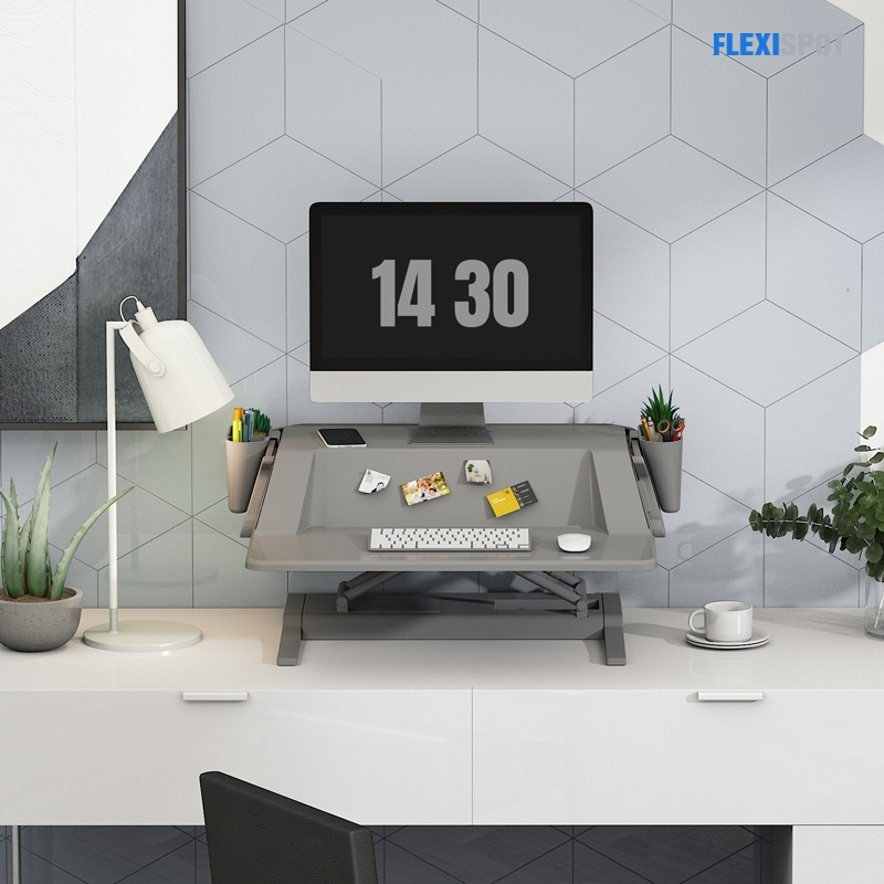 """Aesthetic Sit-Stand Workstation M6 30"""""""