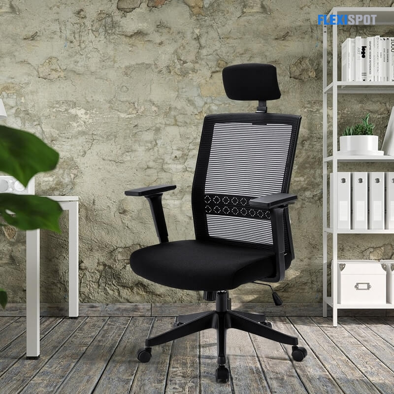 Ergonomic Office High Back Mesh Chair with Adjustable Headrest H3005