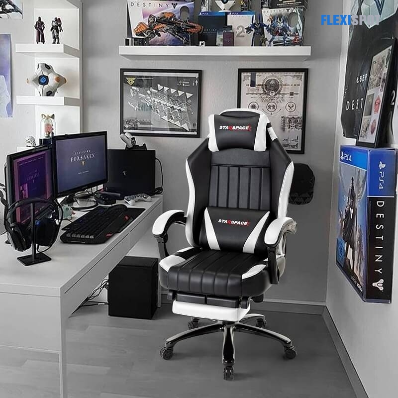Gaming Chair with Footrest 293