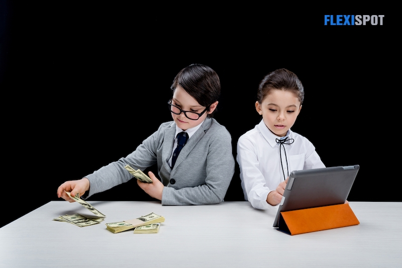 3. Teach your kid how to track their spending.