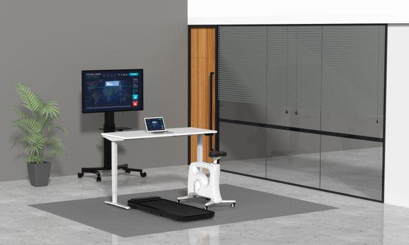 treadmill home office