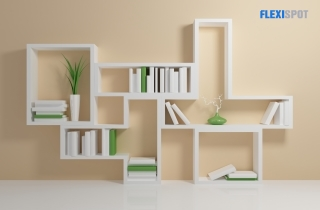 Floating Books and Plants