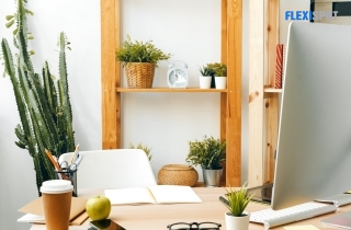 5 Office Solutions To Achieve Earthy Elegance