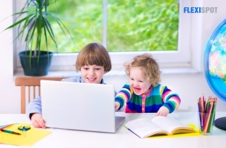 The Happy Kiddos of the Online Class