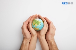 Saving the Planet Hand-in-Hand.