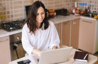 The WFH-Worker At The WorkSpace