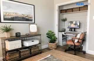 Out of Space for a Workstation? Try Creating a Cloffice