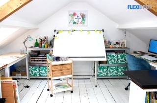 Unleash Your Artistic Prowess With A DIY Art Studio At Home