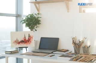 Organizing Your Workspace With A Desk Sans Drawers