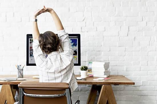 5 Yoga-Inspired Desk-Side Stretches