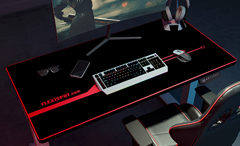 The extended mousepad provides consistent accuracy and control, ideal for any situation, and improves your experience - from typing to graphic design and gaming, less noise, more accurate.