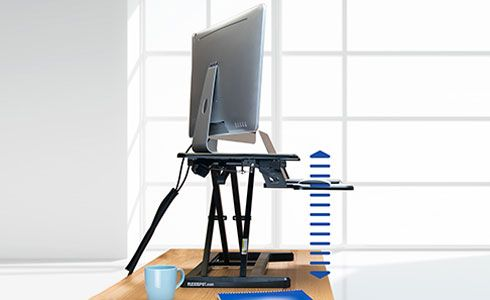 motorized desk riser