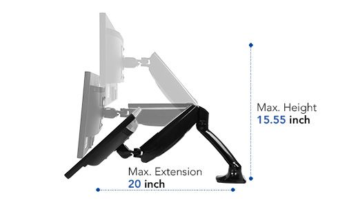 FlexiSpot F7D Responsive and Fully Adjustable