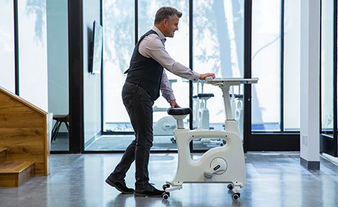 Safety and ease to use of Flexispot desk bike