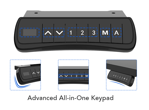 Advanced all-in-one keypad