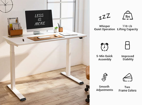 Vici Desk Frame with Advanced Functions