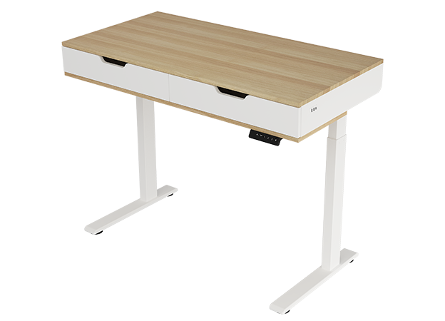 FlexiSpot Esben, a clean, minimal aesthetic free of any distractions, allowing you to focus on what matters.