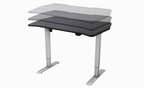 FlexiSpot electric height adjustable gaming desk