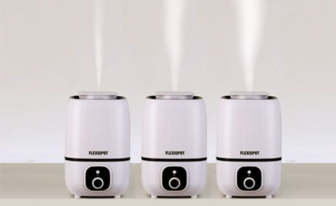 It has several different mist output levels for you to adjust according to the size of your room and current humidity level.